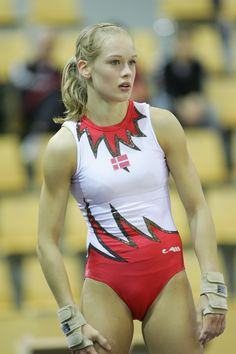 Miriam Offersgaard, artistic gymnast from Denmark