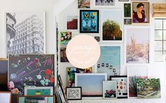 Jenny's Print Shop | Little Green Notebook | Bloglovin' and framing/printing options