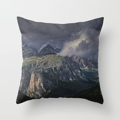 Rugged Terrain Throw Pillow by untitledgallery Down Pillows, Throw Pillows, Poplin Fabric, Pillow Inserts, Hand Sewing, Zipper, Rugs, Stylish, Farmhouse Rugs