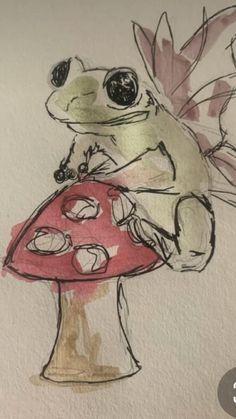 Indie Drawings, Pretty Drawings, Art Drawings Sketches Simple, Scary Drawings, Trippy Drawings, Aesthetic Drawings, Cute Sketches, Unique Drawings, Fantasy Drawings