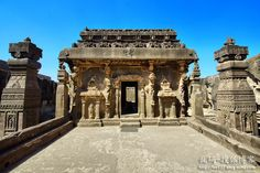 印度埃洛拉石窟,全球最匪夷所思的建築奇蹟-搜狐博客!!!