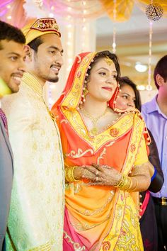 A lovely real Indian wedding http://www.weddingsonline.in/blog/real-wedding-orange-yellow-indian-muslim-wedding-spring-amour-photography/
