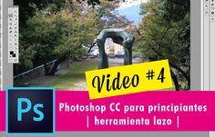 Photoshop CC para principiantes | herramienta Lazo | Video #4 | Jesica Perez - YouTube