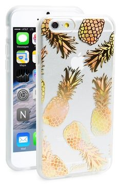 Free shipping and returns on Sonix 'Liana Peach' iPhone 6 Case at Nordstrom.com. Gilded pineapples add a tropical punch to this slim case designed with an impact-resistant rubber bumper to protect your favorite tech.