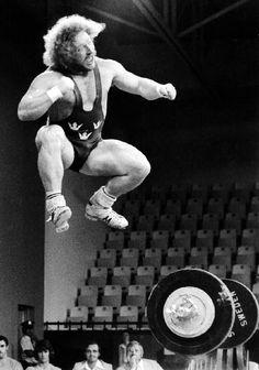 """Swedish weightlifter Lennart """"Hoa-Hoa"""" Dahlgren"""