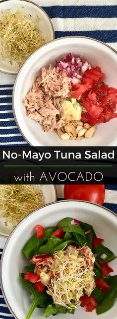 Tuna Salad with Avoc