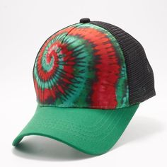 ca3e186dcf9ec Buy Wholesale Blank Hats at Pit Bull Hats Online Shop. Pit Bull Mexico  Pattern Tie Dye Curved Visor Trucker Hats Caps Wholesale and Custom  Embroidery.