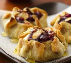Elevate cranberries to a whole new level when they  combine lusciously with honey and almonds in individual little pies.