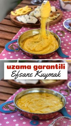 Kuymak (Uzama Garantili) – Nefis Yemek Tarifleri – Sarma ve dolma tarifi – The Most Practical and Easy Recipes Snack Recipes, Snacks, Food Court, Homemade Beauty Products, Food Preparation, Brunch, Food And Drink, Health Fitness, Pudding