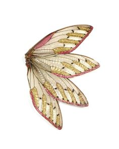"**2***/// vis**************Märta Mattsson - ""palindromes"" 2014 - brooch - resin, cicada wings"