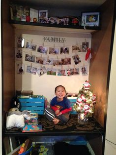 In his #nook #cute #christmas #santa #son #love #family