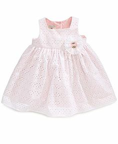 Marmellata Baby Girls' Eyelet Floral Dress - Macys