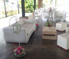 Sala lounge para bodas