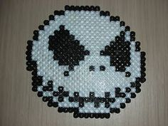 Jack Skellington made with melty beads