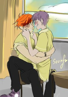 Anonymous said: give me a little bit of a school au senpai! please ! C: Answer: sorry no time - but i hope this will satisfied you a little ;)