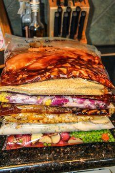 Freezer Meals-Newbie in the Kitchen: Make Ahead Crock-Pot Meals