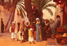 A Tale Of 1001 Nights - Gustave Boulanger