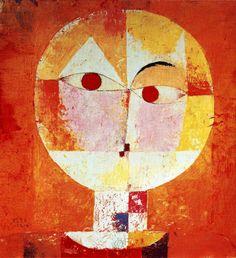 Senecio Artist: Paul Klee Year: 1922 Type: Oil on canvas