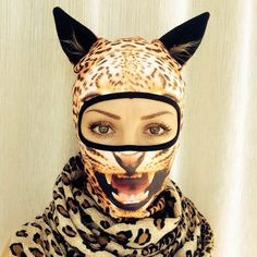 Playful Winter Ski Masks Delightfully Transform Wearer into an Animal 55bb01a55