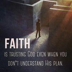 Faith and Trusting God