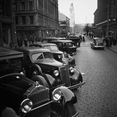Old Helsinki, Finland. History Of Finland, Europe Eu, Map Pictures, Ford Classic Cars, Documentary Photographers, Wal, Helsinki, Slovenia, Croatia