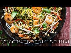 Zucchini Noodles Pasta Recipe and Zoodles Zucchini PAD THAI Recipe