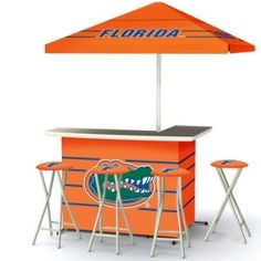 Washington Redskins Deluxe Tailgate Bar With 4 Stools By