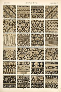 Creative Pattern, Indian, Design, Ornaments, and Motifs image ideas & inspiration on Designspiration