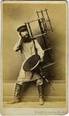 Вильям Каррик - Русские типы - 1860-7х