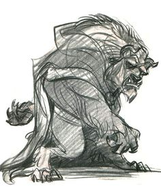 The beast. One of my fav Disney men uh, I mean male characters. haha
