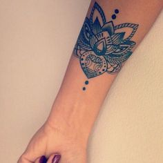 Lotus tattoo - woman  tattoo - arm tattoo