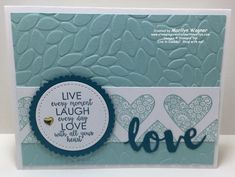 This week I'm going to share Ribbon of Courage cards that I've made for the Stamp for Cancer Research event that I'm hosting on Saturday, January Valentine Love Cards, Stamping Up, Diy Cards, Stampin Up Cards, Card Making, Day, January 27, Handmade, Breast Cancer