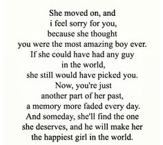 I can still have hope in finding that person someday