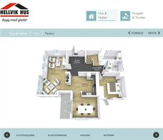 Our property development partner will build you a home from their floor plans OR let you be the architect & interior designer! Here is an example of a floor plan that you could edit or approve.  View another example:  http://hellvikhus.no/Hus-og-Hytter/Hus/Fryd/   #floorplans #homebuilders #realestate #homes #dreamhome