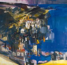 Aba-Novák, Vilmos (1894-1941) Cefalu, 1930 Painting, Art