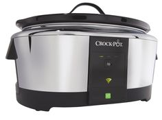 A crockpot you can control with a mobile app! $99.99 and hits the shelves this spring! WOO HOO!   7 Cool Health & Fitness Gadgets from CES 2014 | SparkPeople