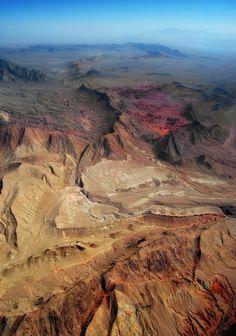 Painted Desert, Arizona from 3,000 ft. - Stephen Hoppe