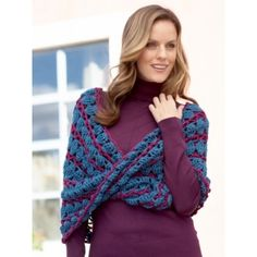 Buy Free Pattern Caron Lace Infinity Cowl from the Crochet Patterns range at Hobbycraft. Crochet Shawls And Wraps, Crochet Scarves, Crochet Clothes, Knitting Patterns Free, Crochet Patterns, Free Pattern, Cowl Patterns, Free Knitting, Shrug Pattern