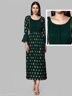 Kurtis & Kurtas Myra Fashionable Maternity Kurtis Fabric: Rayon Sleeve Length: Three-Quarter Sleeves Pattern: Colorblocked Combo of: Single Sizes: S (Bust Size: 18 in, Size Length: 48 in)  XL (Bust Size: 21 in, Size Length: 48 in)  L (Bust Size: 20 in, Size Length: 48 in)  XXXL (Bust Size: 23 in, Size Length: 48 in)  M (Bust Size: 19 in, Size Length: 48 in)  XXL (Bust Size: 22 in, Size Length: 48 in)  Country of Origin: India Sizes Available: S, M, L, XL, XXL, XXXL   Catalog Rating: ★4.2 (542)  Catalog Name: Abhisarika Alluring Maternity Kurtis and Feeding Kurtis with 2 sided zip CatalogID_2618112 C74-SC1001 Code: 946-13356561-