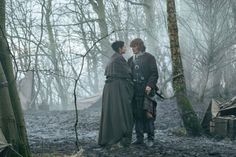 """""""Dragonfly in Amber is a much more difficult book to adapt.""""  GREAT interview with co-producer, Maril Davis about season 3 of Outlander!"""