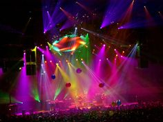 COLORFUL CONCERT VIEW