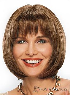 Wig Online Short Straight Brown 12 Inch Remy Human Hair Wigs - New Site Best Human Hair Wigs, Cheap Human Hair Wigs, Real Hair Wigs, Remy Human Hair, Short Bob Hairstyles, Wig Hairstyles, Hairstyle Short, Fashion Hairstyles, Medium Hair Styles