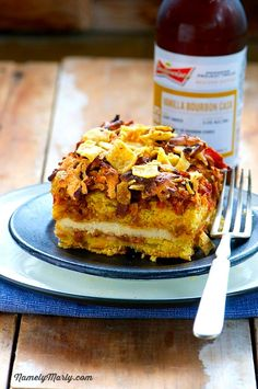 Vegan Taco Cornbread Casserole is so quick and easy to make!