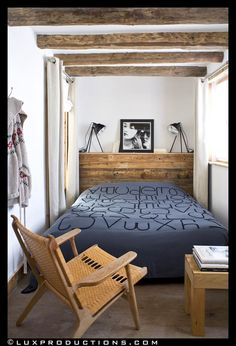 View full picture gallery of Chalet La Grange Wood Bedroom, Diy Bedroom Decor, Home Decor, Master Bedroom, Chalet Interior, Interior Design, Tiny Bedroom Design, Small Room Interior, Diy Pallet Bed