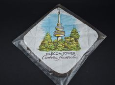 Telecom Tower Canberra Pot Holder - Vintage Kitchen - New in Packet!