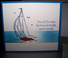 Sail Away by inkinbythebay - Cards and Paper Crafts at Splitcoaststampers