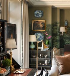Ideas For Tree Wallpaper Living Room Paint Colors Interior Exterior, Home Interior, Interior Decorating, Interior Design, Room Paint Colors, Paint Colors For Living Room, Tree Wallpaper Living Room, Home Decor Inspiration, Decoration