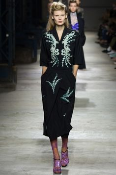 Dries Van Noten ready-to-wear spring/summer '16: