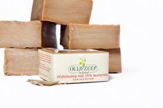 oliveoilsoap 15% laureloil, www.olijfoliezeep.nl Aleppo zeep