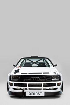 1984 Audi Quattro Sport. Group B rally hero.
